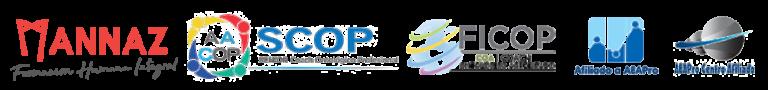 Logos Mannaz, AACOP, FICOP, AEAPro